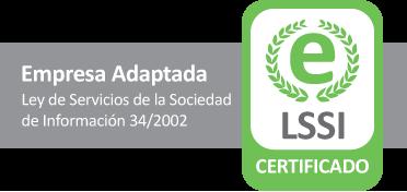 Perytas, empresa scertificada en el cumplimiento de la LSSI